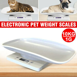 Digital Baby Scales Infant Pet Dog Weight Measure LCD 10kg Cat Puppy Rabbit