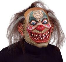 Morris Costumes Latex Halloween Carnival Drifter Horror Clown Mask. MR031212