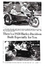 1928 Harley-Davidson JD w/Original Sidecar from Factory