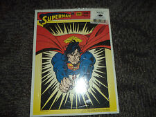 Vintage 1995 Superman Golden Books Frame Tray Puzzle of Superman DC Comics