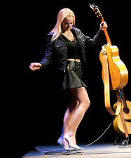 JEWEL KILCHER 8X10 PHOTO PICTURE PIC HOT SEXY LEATHER OUTFIT LIVE IN CONCERT 1