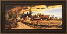 BEFORE THE STORM by Doug Knutson 10x20 FRAMED PRINT PICTURE Farm Barn Clouds