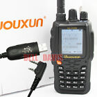Wouxun KG-UV8D Dual Band Duplex Cross Band Repeat Color LCD Radio + USB cable