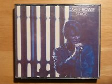 David Bowie - Stage - Live / 2 CD-Set dicke Box RAR Heroes - Station to Station