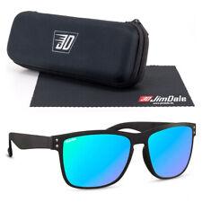 Jim Dale Sonnenbrille Schwarz Kunststoff Mehrfarbig verspiegelt UV400 Unisex
