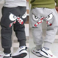 Boys Kids Infant Clothes Harem Pants Loose Trousers Girl Bottoms Leggings 2-7Y
