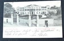 CARTOLINA VERONA BOVOLONE PALAZZO GAGLIARDI RARA VIAGGIATA 1902 SUBALPINA ZZ