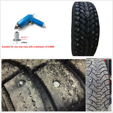 For 9mm Car Motorcycle Snow Spike Wheel Tyre Chains Stud Screw Tire Nail Air Gun