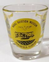 "Naval Aviation Museum Pensacola Florida Airplane 2.25"" Collectible Shot Glass"