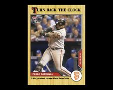 2020 TOPPS NOW #213 TURN BACK THE CLOCK PABLO SANDOVAL SF GIANTS (PRE-SALE)