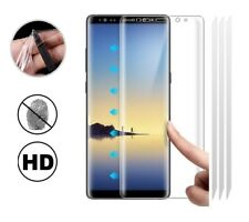 3x Samsung Galaxy Note 8 [FULL COVERAGE] Clear TPU Screen Protector Guard Covers