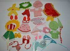 Kenner Strawberry Shortcake Doll Berry wear LOT Shoes Baby Pajamas Raincoat Nice