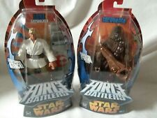 STAR WARS FORCE BATTLERS Chewbacca and Skywalker NEW