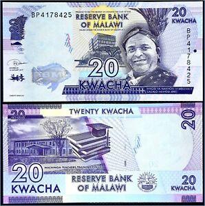 Billet Malawi 20 Kwacha 2012 P57 état ****