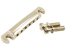 Kluson USA Made Lightweight Stop Aluminum Tailpiece, Nickel KLP-1143N