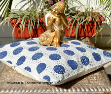 "100% Cotton Handmade Kantha Home Decor Bed-Pillow-Cushion Cover-Sofa Throw 16"""