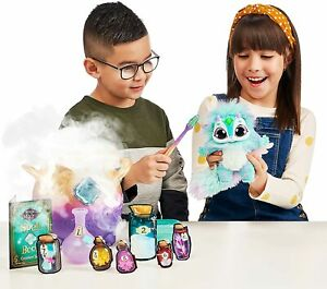 Magic Mixies Magical Misting Cauldron Blue Plush Toy & 50+ Sounds and Reactions