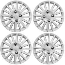 "Mitsubishi I-Car 14"" Lightning White Universal Car Wheel Trim Covers"