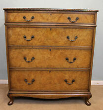 Walnut Art Deco Antique Chest of Drawers