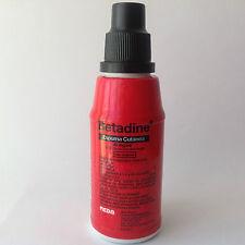 Betadine foam antiseptic liquid soap non-irritating 4% povidone iodine 125ml