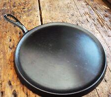 Vintage GRISWOLD Cast Iron GRIDDLE Pan RESTORED # 9 LARGE BLOCK LOGO