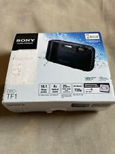 Sony Cyber-Shot DSC-TF1 16.1MP Black Digital Camera Waterproof
