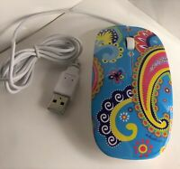 USB Optical Mouse Roxy Electric PC MAC The Macbeth Collection Fashion