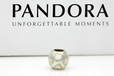 Genuine Authentic PANDORA Mother of Pearl Sterling Silver Charm to Suit Bracelet