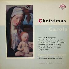 Prague Madrigal Singers(Vinyl LP Gatefold)Christmas Carols-Supraphon-Ex/VG+