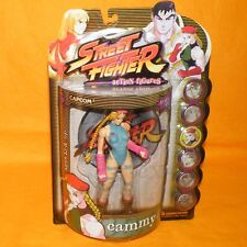 1999 RESAURUS CAPCOM STREET FIGHTER ROUND ONE CAMMY FIGURE MOC CARDED PLAYER 2