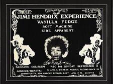 """Jimi Hendrix Spokane 16"""" x 12"""" Photo Repro Concert Poster"""