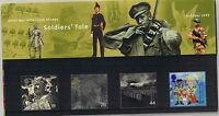 GB Presentation Pack 302 / 303 1999 Soldiers' Tale