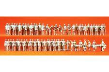 Preiser 16339 HO 1/87 Pompiers - Policiers - Sauveteurs 60 figurines