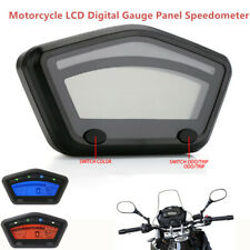 1*Motorcycle Motocross LCD Digital Gauge Panel Speedometer 0~99999.9km Odometer