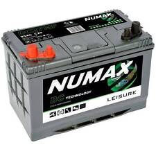 Numax Leisure Battery 95Ah Twin post  Large range of leisure batteries