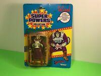 1985 KENNER DC COMICS SUPER POWERS ACTION FIGURE MOC DESAAD SUPERMAN FRENCH CARD