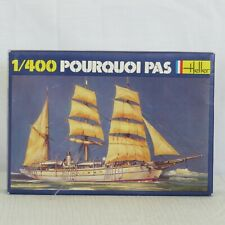 Heller 1/400 Three-masted Steam Barque Pourquoi Pas, Kit 061, New      M182