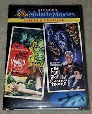 Voodoo Island/Four Skulls of Jonathan Drake DVD Factory Sealed NEW