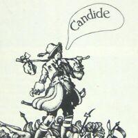 Candide Playbill September 1975 Ticket Charles Kimbrough Maureen Brennan