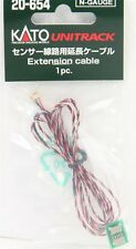 Kato N Scale 20654 Extension Cable For Sensor Track