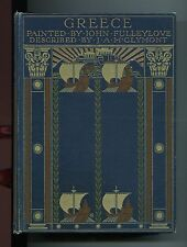 GREECE Painted By John Fulleylove 1906 A and C Black Illustrated Greeks