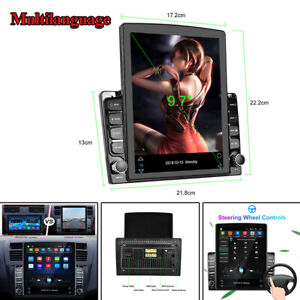 9.7in Vertical Screen HD Car MP5 Player Android 8.1 GPS Navi Stereo Touch Screen