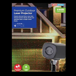 Premium Laser Red Green Dot Projector Outdoor Christmas LED Light Decoration