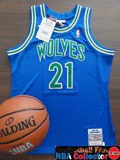 Nba Mitchell & Ness Minnesota Timberwolves Kevin Garnett Authentic Jersey Size L
