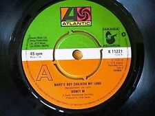 BONEY M = MARY'S BOY CHILD OH MY LORD / DANCING IN THE STREETS - 1978 EX. VINYL