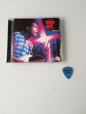 Robert Cray Hand Signed Autographed CD Album Sleeve With Stage Issued Plectrum