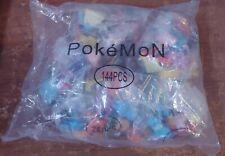 Pokemon 144 Mini Figures Toys 2-3 cm PARTY gifts cake topping