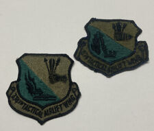United States 374th Tactical Airlift Wing LOT OF 2 Patches