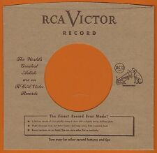 RCA VICTOR REPRODUCTION RECORD COMPANY SLEEVES - (pack of 10)
