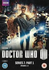 DOCTOR WHO<> SERIES 7 PART 1<>two disc box set